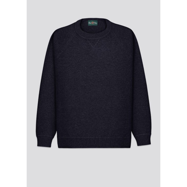 Alan Paine - Tröja - Rushmere Sweatshirt (NAVY) - Thernlunds