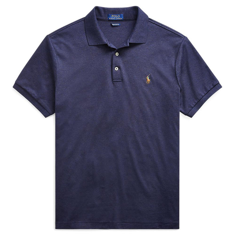 Pima Polo Pique (075 Spring Navy Heather)