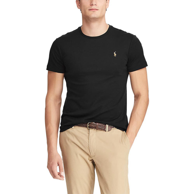 Polo Ralph Lauren - T-shirt - Pima Polo T-Shirt (001 Polo Black) - Thernlunds