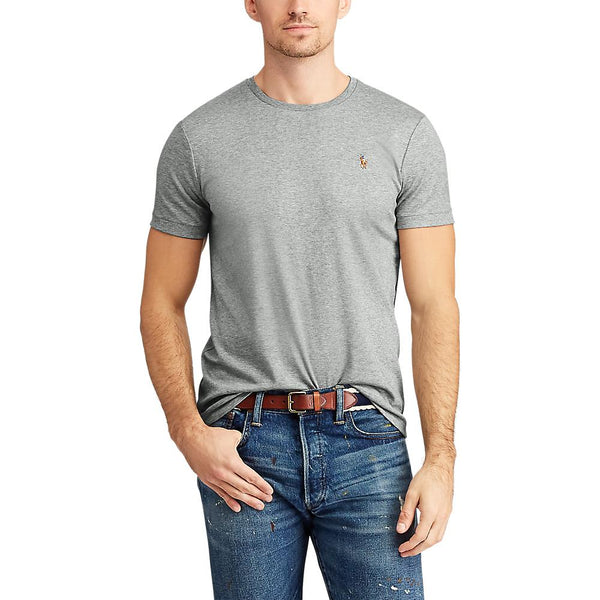 Pima Polo T-Shirt (012 Grey Heather)