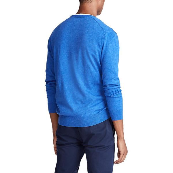 Pima Cotton Crew Neck (003 Dockside Blue Heather)