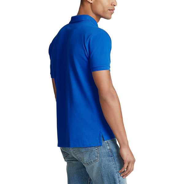 Custom Slim Fit Polo (011 New Iris Blue)