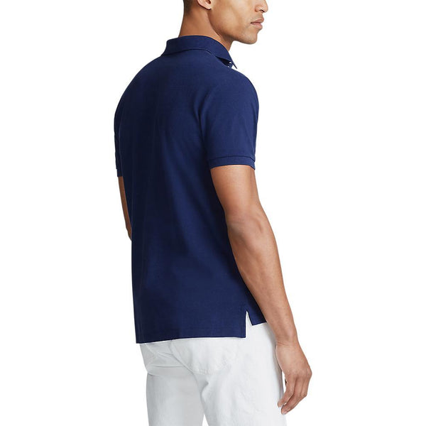 Custom Slim Fit Polo (008 Newport Navy)