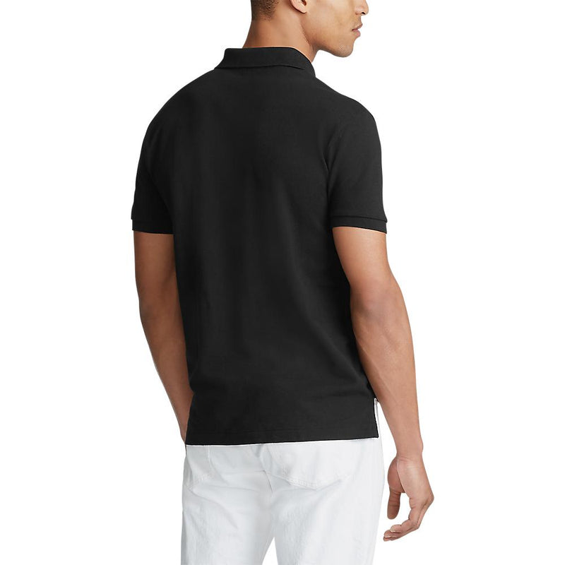Polo Ralph Lauren - Tröja - Custom Slim Fit Polo (001 Black) - Thernlunds