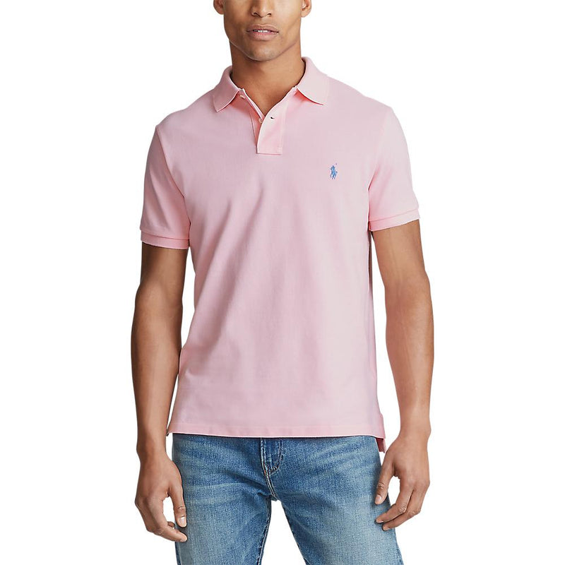 Custom Slim Fit Polo (033 Camel Pink)