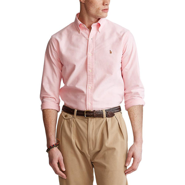 Corefit Oxford Basic Shirt (003 Pink)