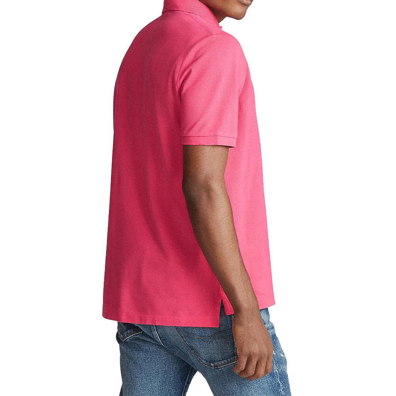 Custom Slim Fit Polo (007 Hot Pink)