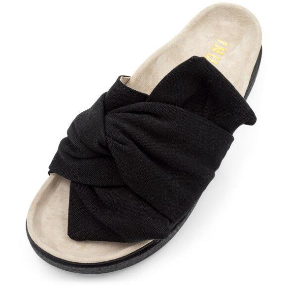 W Knot Micro Slipper (Black)