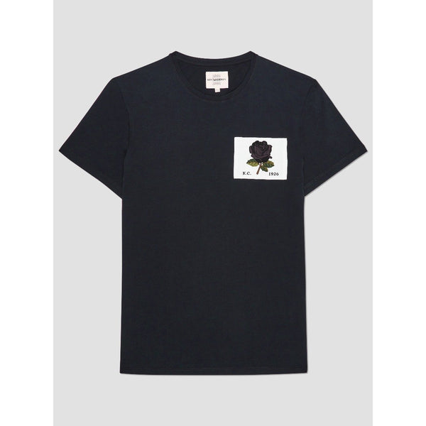 Kent & Curwen - T-shirt - Rose 1926 T-Shirt (99 Black) - Thernlunds