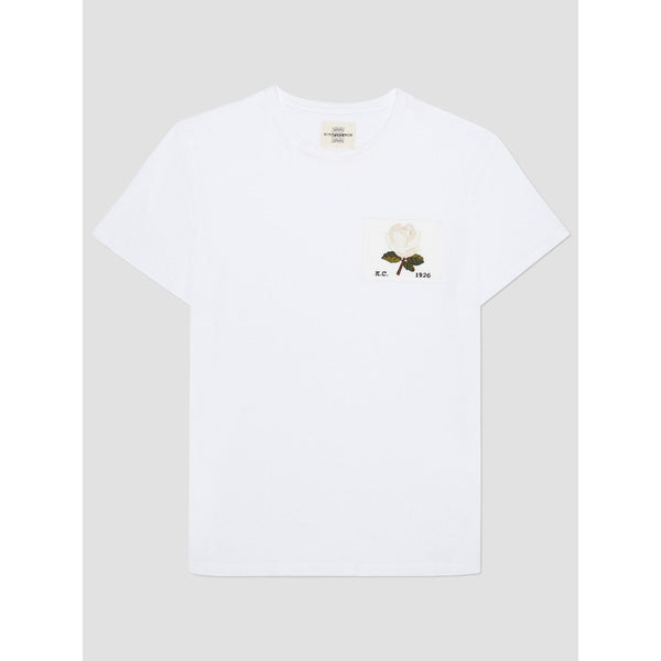 Kent & Curwen - T-shirt - Rose 1926 T-Shirt (90 White) - Thernlunds