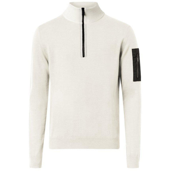 Lucca 1/2 Zip (110 Offwhite)