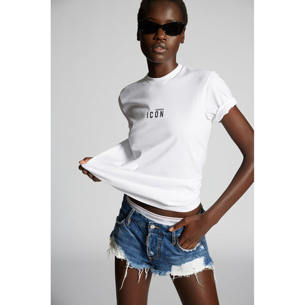 Dsquared2 - T-shirt - T-Shirt (100 White) - Thernlunds