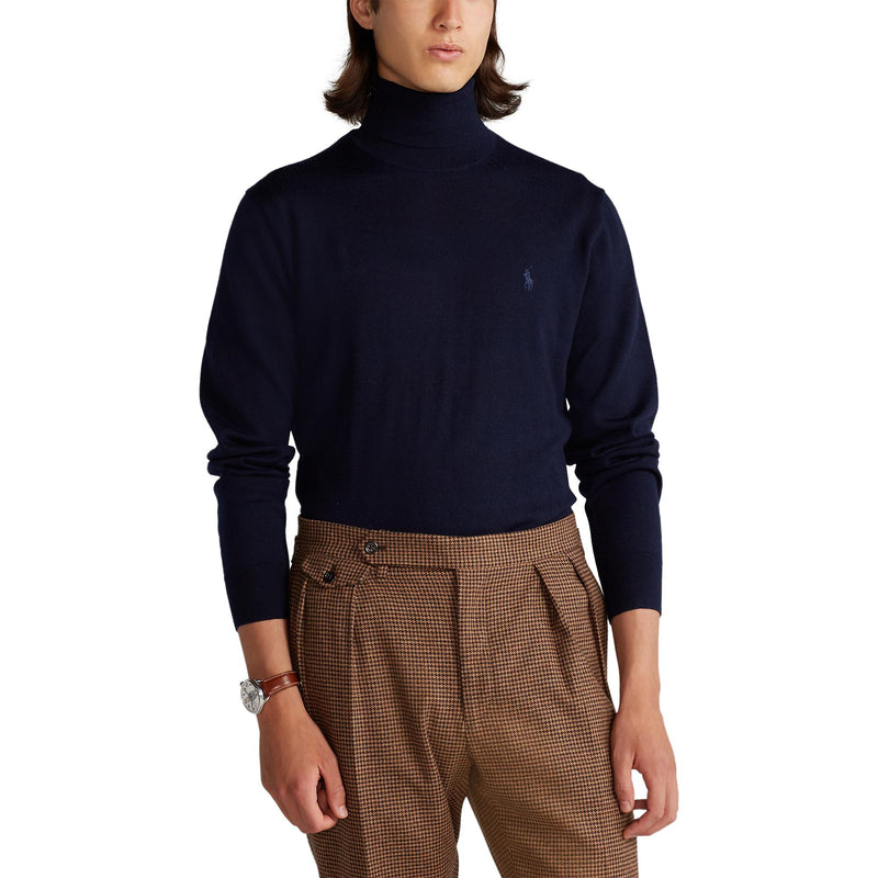 Polo Ralph Lauren - Tröja - Merino Turtle Neck Sweater - Thernlunds