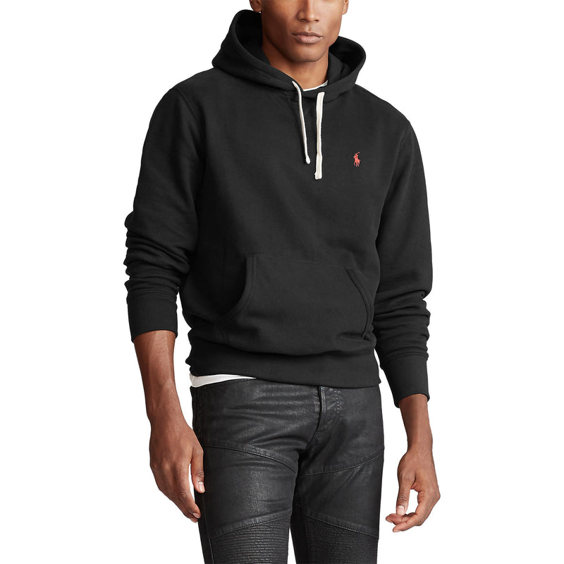 Polo Ralph Lauren - Tröja - LS Hood Sweater (008 Polo Black) - Thernlunds