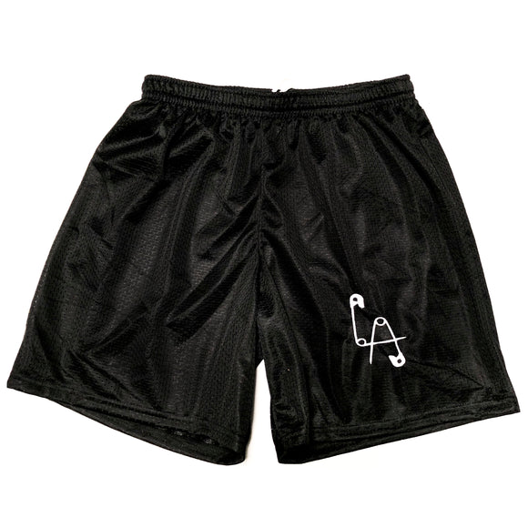 Mesh Basketball Shorts - embroidered