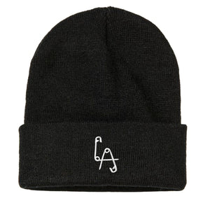 Knitted Beanie - Embroidered Logo