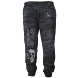 Take Warning - Black Camo Reflective Safety Joggers