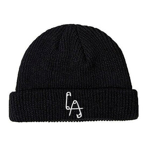 Short Sailor Beanie - Embroidered Logo