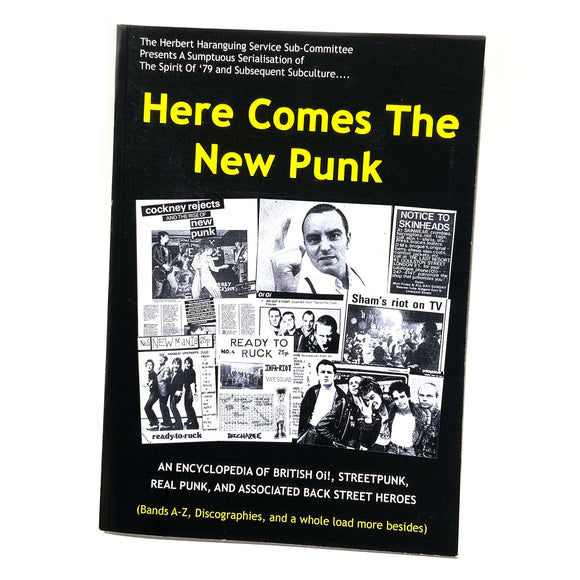 HERE COME THE NEW PUNK - UK STREET PUNK 79+