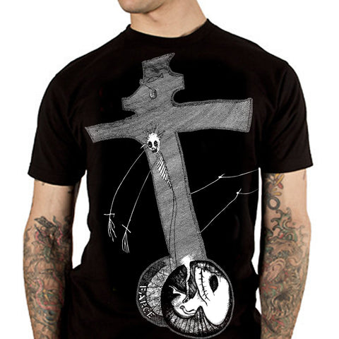 "NICK BLINKO ""Rudimentary Peni Crucifarce"" T-Shirt"