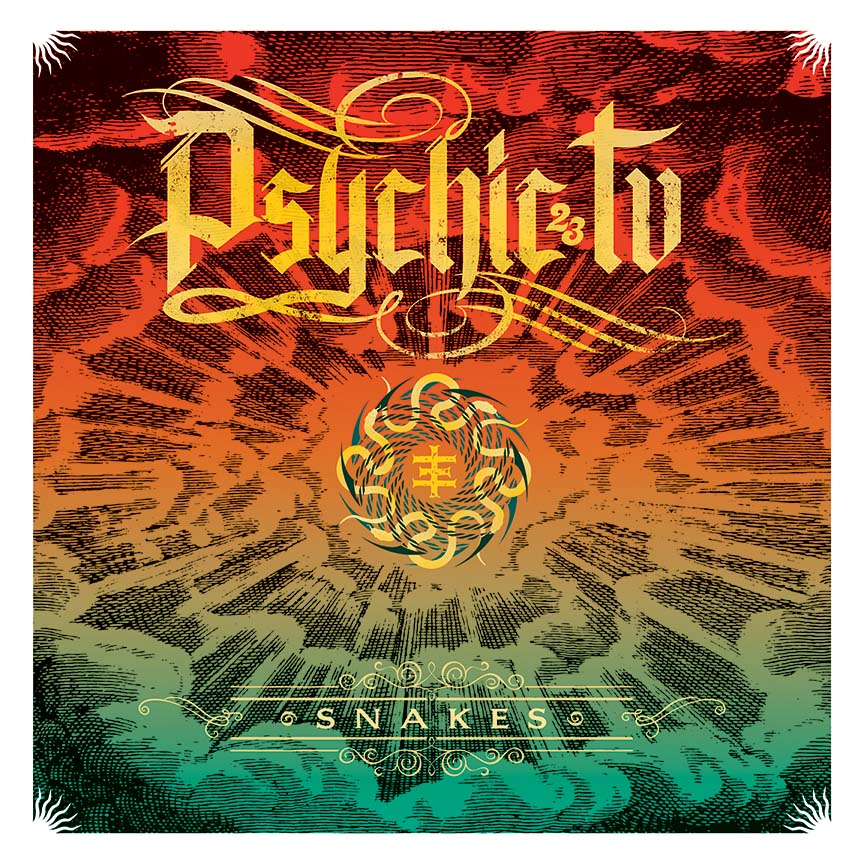 "PSYCHIC TV ""Snakes Album Cover"" BY EDLEY ODOWD"