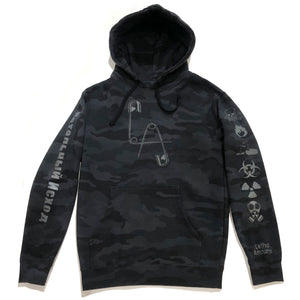 Take Warning H/W Pullover Hoodie - Safety Reflective