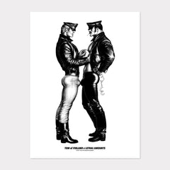 Tom of Finland Official Bikers Facing POSTER