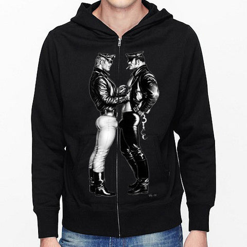 Tom of Finland Official Bikers Facing Hoodie