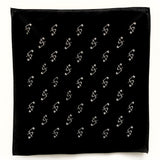 Lethal Amounts Safety Pins logo Monogram Bandana