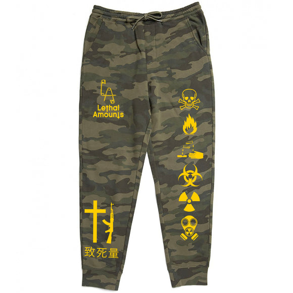 Take Warning - Forrest Camo Joggers