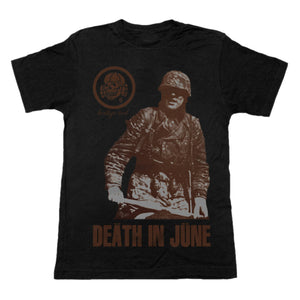 Death In June - Brown Book T-Shirt