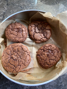 Dark Chocolate Buckwheat Cookies (GF)