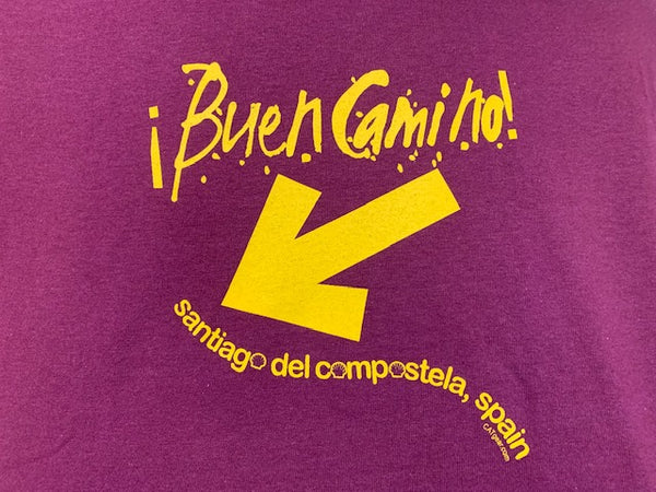 Buen Camino Crew Neck Tee Shirt Catholic