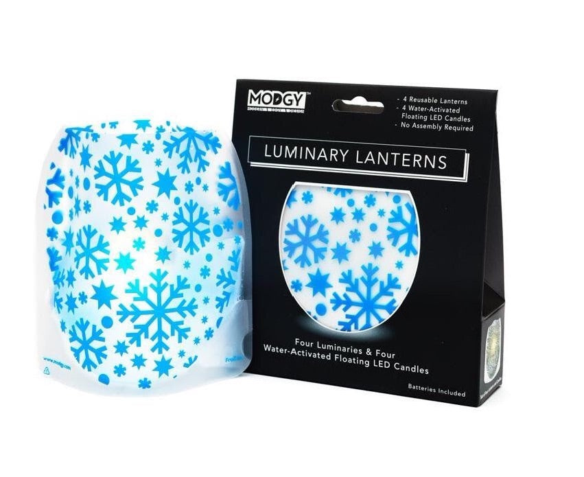 Modgy Reusable Luminaries.