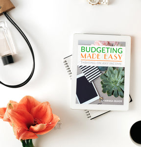 Budgeting Made Easy: Thriving on Any Income e-book 15% Off!