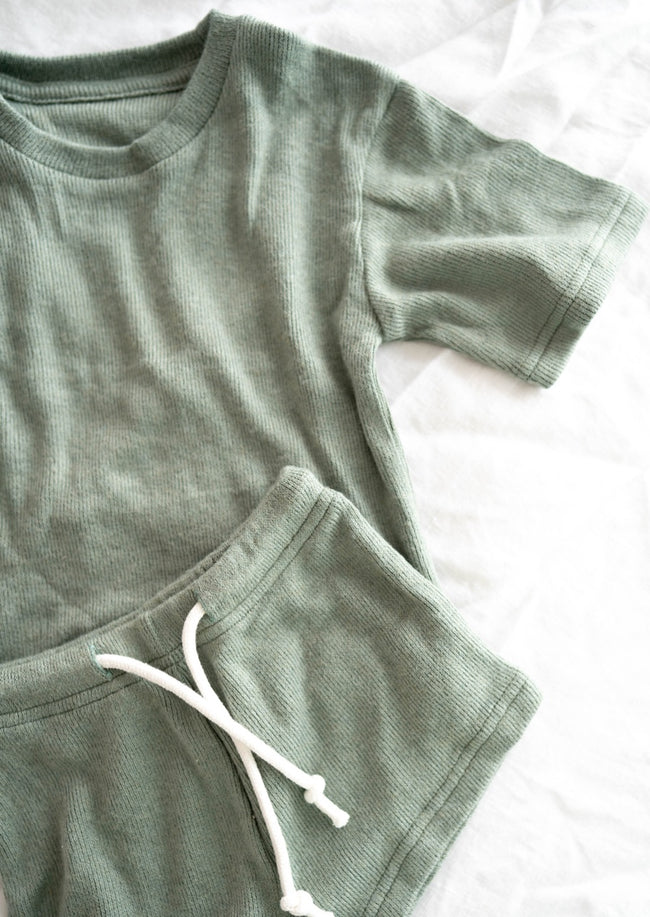 Paros Mini Top - Sage