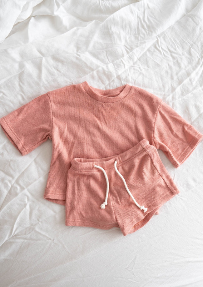 Paros Mini Top - Dusty Pink