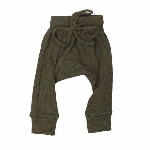 green-trackpants-pants-cosy-boy-girl-newborn-unisex-baby-drawstring-waist-band-ribbed-drop-crotch