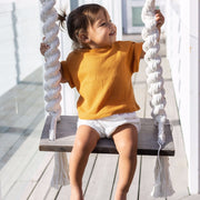 oversized-shirt-top-orange-sleeves-boy-girl-newborn-unisex-baby-ribbed