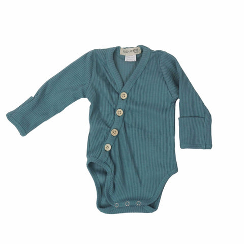 onesie-blue-long-sleeves-boy-girl-newborn-unisex-baby-bodysuits-snap-button-crotch-mitten-bamboo-button