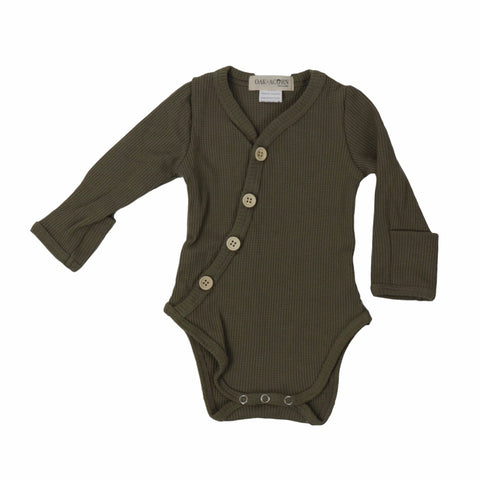 onesie-green-long-sleeves-boy-girl-newborn-unisex-baby-bodysuits-snap-button-crotch-mitten-bamboo-button