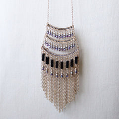 Shop Deco Fringe Necklace