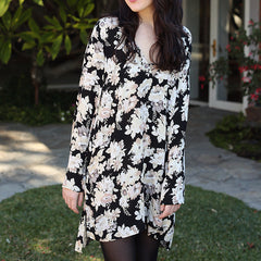 Falling for Florals Tunic Dress
