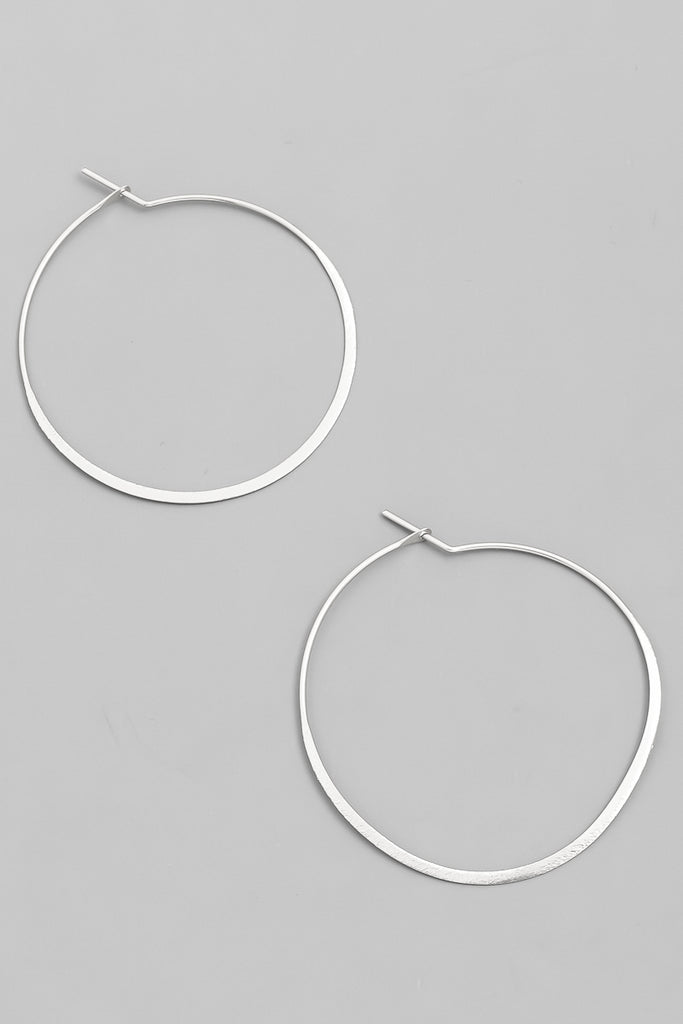 Simply Perfect Hoop in Silver