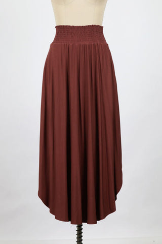 Heat Wave Linen Drawstring Short In Mocha