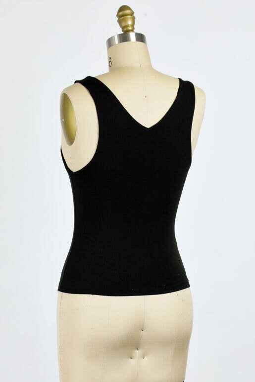 The Madison Best Selling Two Layer Soft V Neck Neck Semi Crop Top (4 Colors)