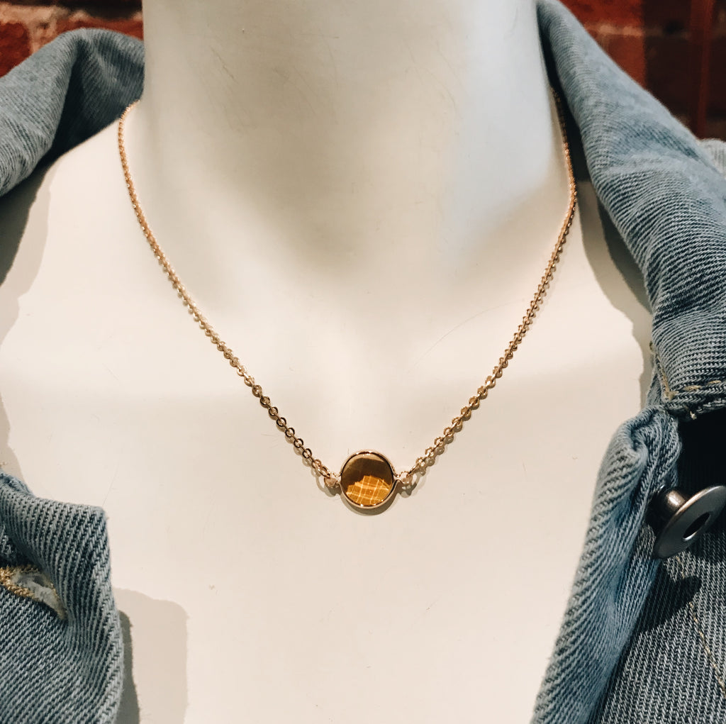 Topaz Necklace