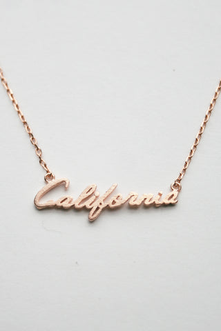 My Initial Gold Dainty Necklace (Large Letter) A-Z