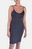 Soft Melody V Neck Bodycon Ultra Soft Cami Dress in Black
