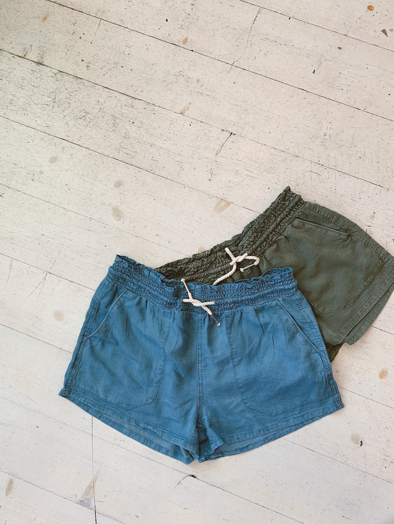 Softest Drawstring Kick Back Short
